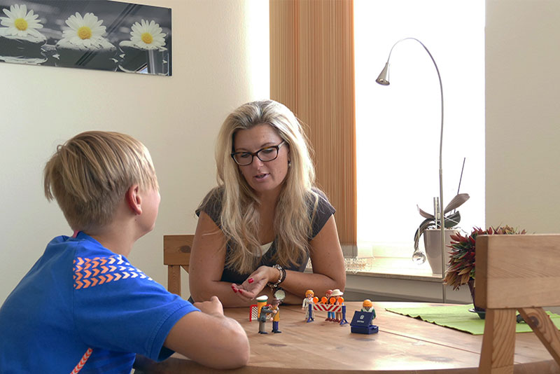 Pamela Steube - Jugend-Coaching mit Playmobil-Aufstellung